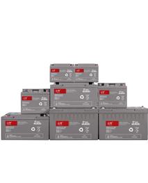 山特城堡C12V系列电池